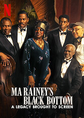 Search netflix Ma Rainey's Black Bottom: A Legacy Brought to Screen